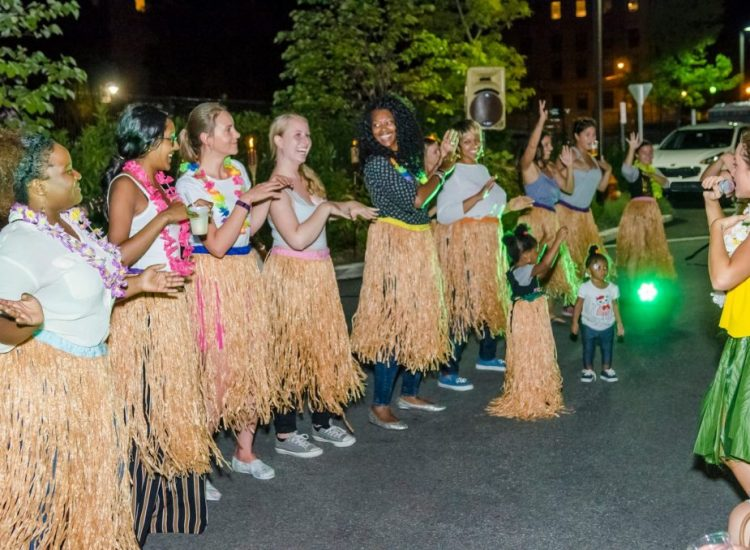 No matter the size of the party, get ready to learn how to hula!